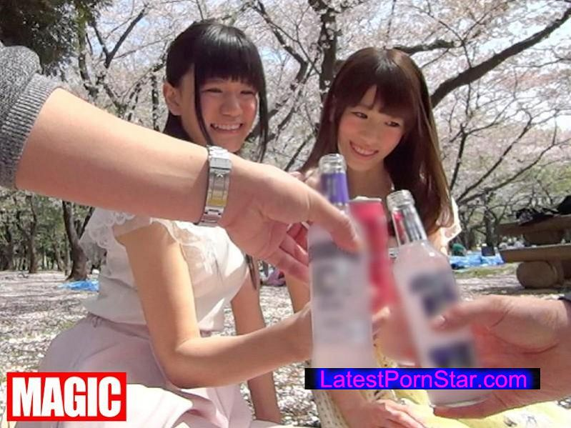 [NMP-037] マジックナンパ!Vol.37 お花見ナンパ