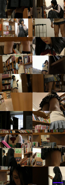 [OMSE-018] JKストーカー痴漢 図書館で見つけた天使たち