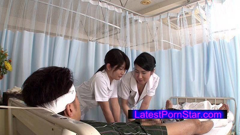 [DANDY-505] 「看護師にせんずりを見せつけたらヤれたが…同僚にバレてしまい怒られるかと思ったら2人で一緒にヤってくれた」VOL.2