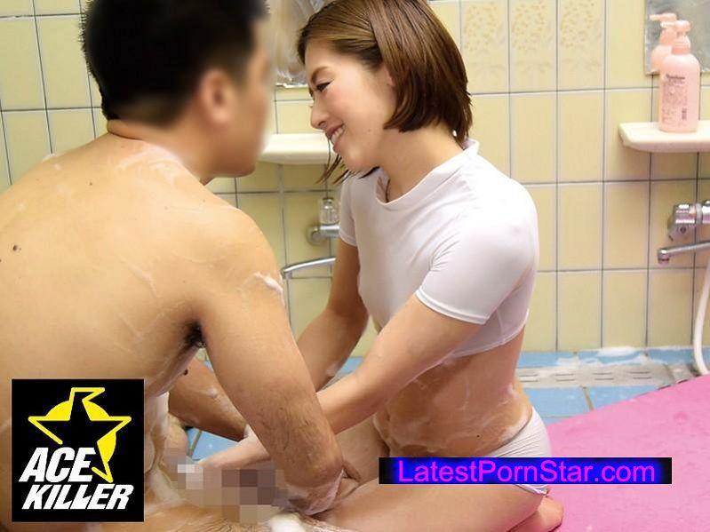 [KIL-116] 密着洗体エステに勤める訳あり妻に媚薬ローションを仕掛けたら我慢できなくなって…本番成功