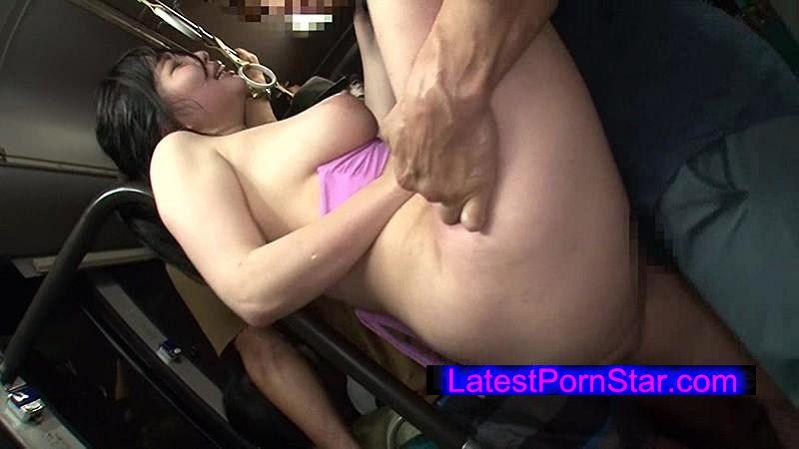 [NHDTA-866] 海岸路線バスで背後から水着越しにねっとり乳揉み痴漢され腰をグラインドさせイキまくる巨乳女