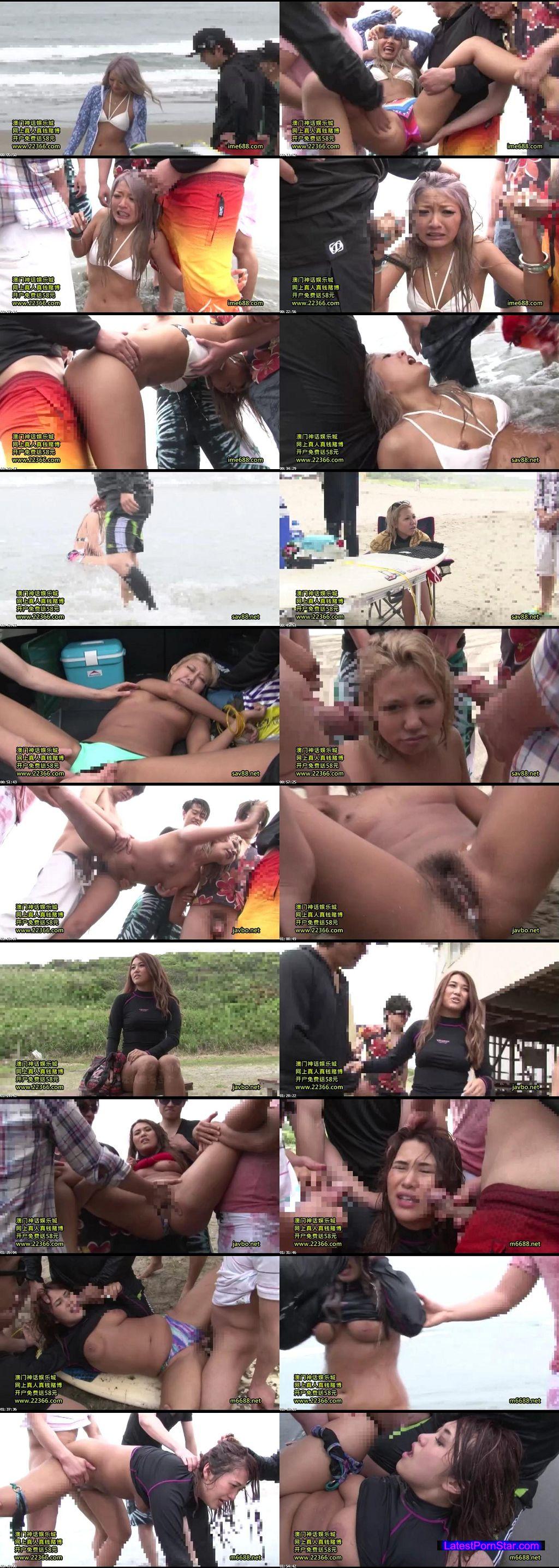 [RCT-888] かっこいいサーファーギャルをビーチで中出し輪姦レイプ