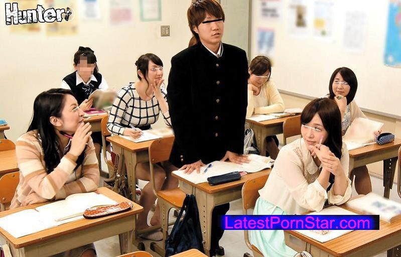 [HUNTA-202] 若妻だらけの定時制●校!イジメられ●校を退学したボクが夜間定時制●校に入学したら、クラスメイトがボクよりかなり年上の若妻だらけ!2 しかもみなさん現役●校生の僕が初々しくて可愛いようで前の学校とは一転まさかの人気者に!しかもしかも若妻さんたちは欲求不満…
