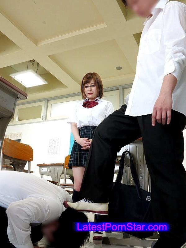 [SCPX-153] イジメられっ子の僕に初めて出来た自慢の彼女が目の前で同級生に寝取られる!すがるようにこっちを見ていた彼女はなんども同級生チ○ポを膣内にナマで打ち込まれるうちにイッてしまうのか?