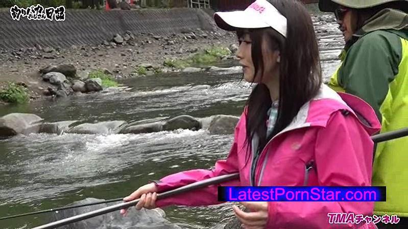 [T28-473] 釣りバカおじさん日記 〜マドンナ大槻ひびきとニジマス&ヤマメ釣りチャレンジ!!〜