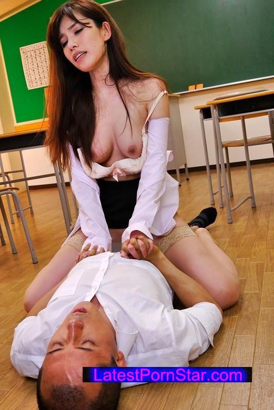 [UMSO-103] エロすぎるナイスBODYの熟女教師が媚薬を仕込まれ敏感オマ●コに自制心制御不能で校長や教え子にハメまくられ中出し専用肉便器に! 神山なな