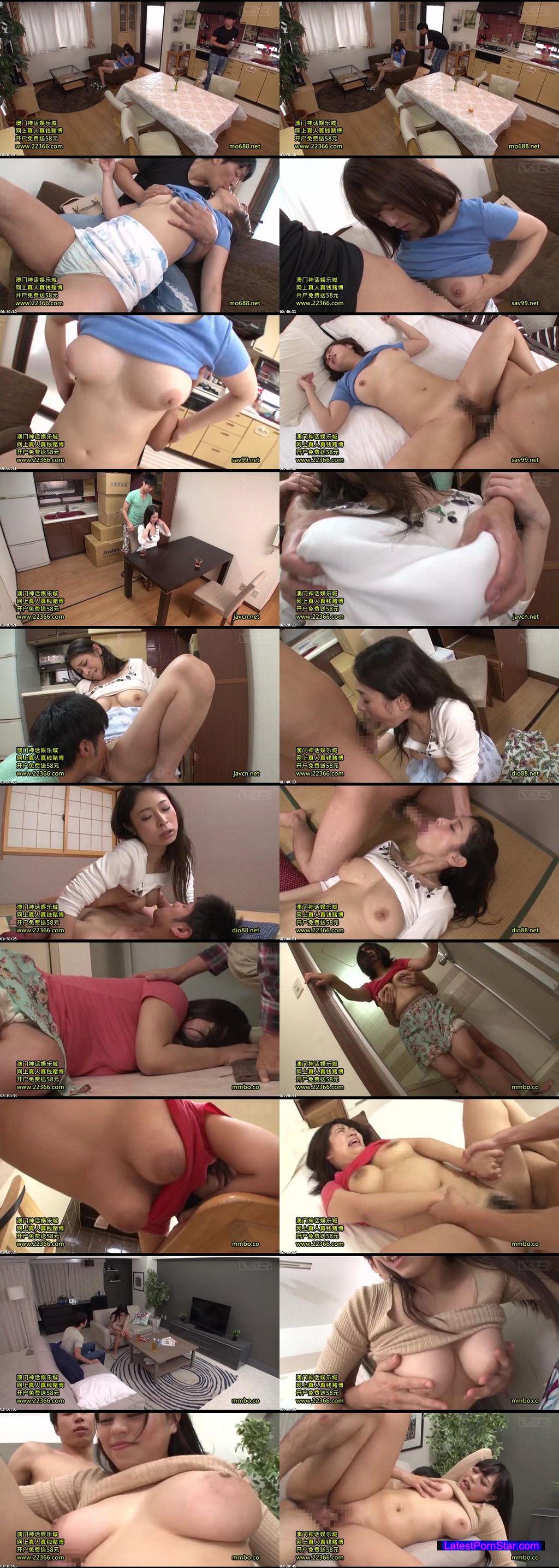 [VRTM-197] デカ乳に張りつく着衣巨乳の姉に媚薬を飲ませると摩れるだけで感じる超敏感ボディに!おっぱい激揺れさせるデカチン突きに痙攣!しながら何度もイキ果てる!