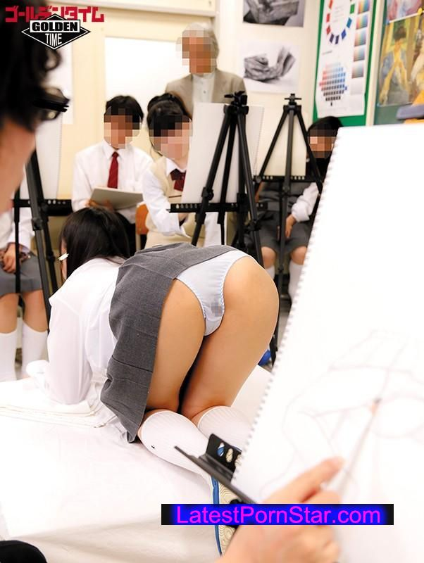 [GDHH-031] 奇跡!?授業中に僕だけに見えるパンチラデッサン!美術の時間にやりたくもないデッサンを毎週やらされているけど、モデル役のクラスの女子のスカートがめくれてパンツが僕の位置から丸見え!授業に真面目に取り組んでいるフリをしてパンツをじっくり見まくってフル勃起!…