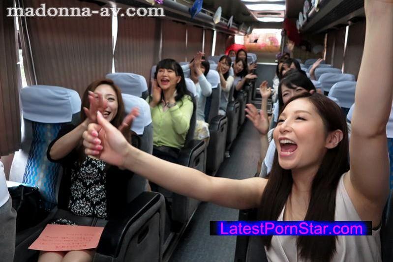 [JUY-004] 夢のマドンナ大共演!!美熟女が行く一泊二日のレズ大乱交バスツアー!!