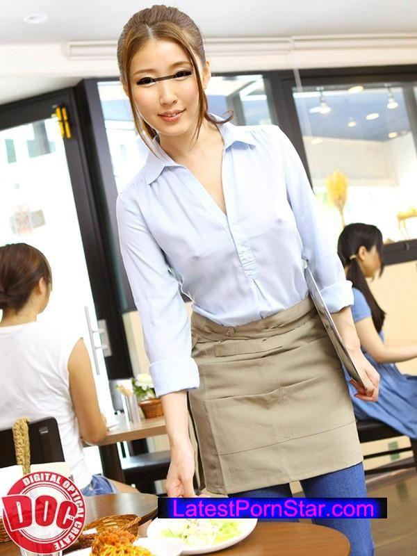 [RDT-264] 巨乳美女店員がまさかのノーブラ派!?乳首ぽっちしている事を気にせず仕事する彼女に興奮してしまい…