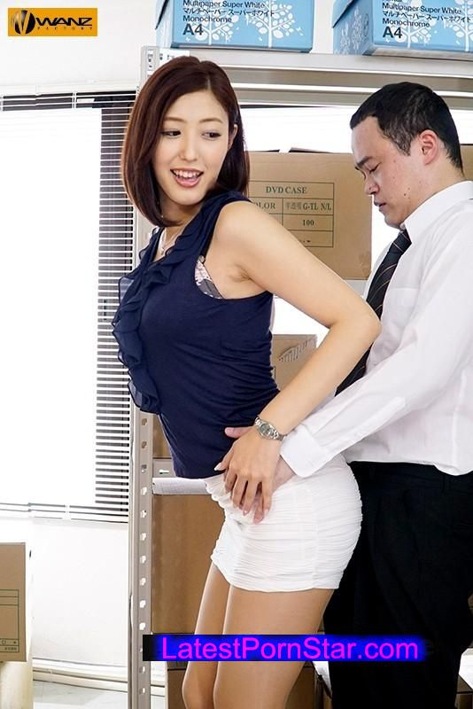[WANZ-581] 働く痴女系OLのバック中出しが最高!! 水野朝陽