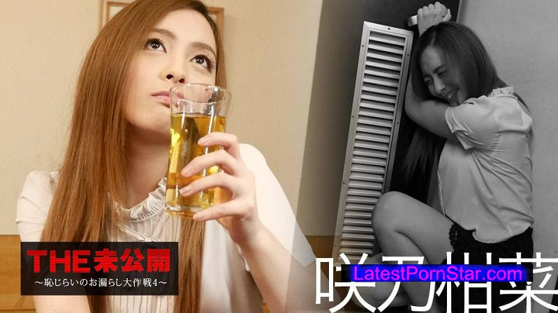 カリビアンコム 022317-379 THE 未公開 〜恥じらいのお漏らし大作戦4〜 咲乃柑菜 -