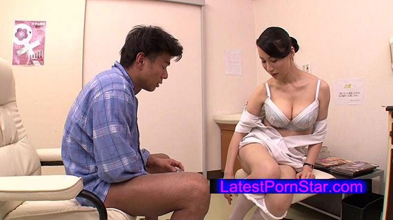 [DANDY-538] 「採精室でイケメン患者と2人きり!不意打ち射精に驚き精子を採取出来なかった熟年看護師が謝りながら2発目の精液検査を手伝ってくれた」VOL.4