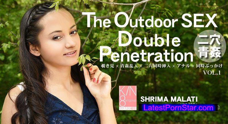 金8天国 1696 The Outdoor SEX Double Penetration 二穴青姦 SHRIMA MALATI / シリマ マラティー
