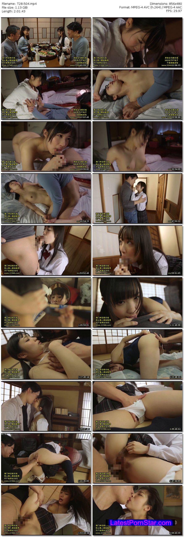 [T28-504] 帰省して久々に会った妹と親には内緒の近親相姦中出し性交 栄川乃亜