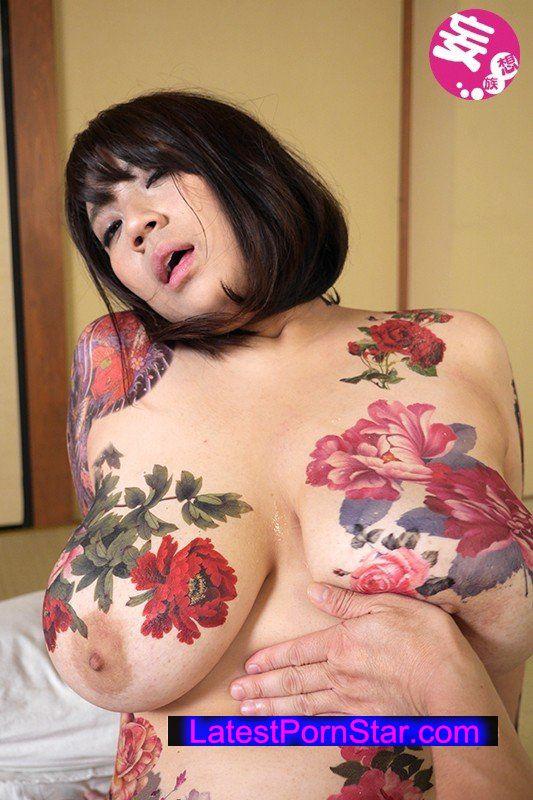 [HD][BDA-028] 全身タトゥーの女 巨乳を彩る極彩色の楔 九条さやか