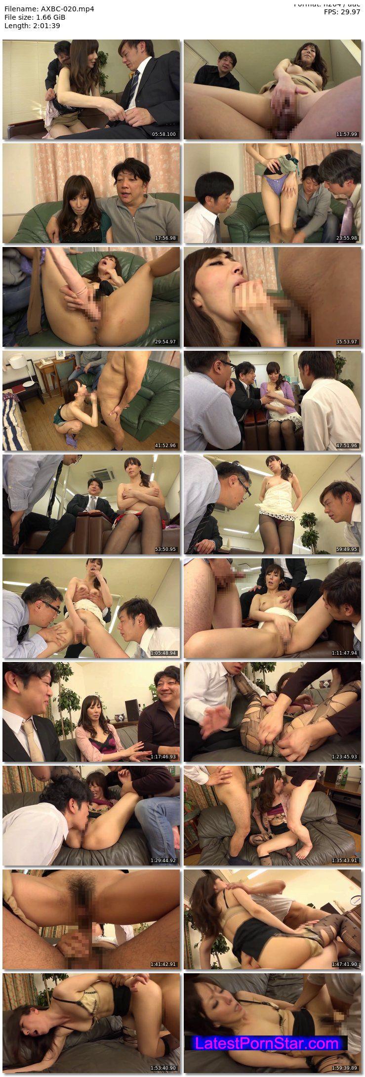 [AXBC-020] 「俺の前で他のチ○ポを咥えろ!」私のオマ○コを見せつけ見ず知らずの男に中出しさせる私の夫 澤村レイコ