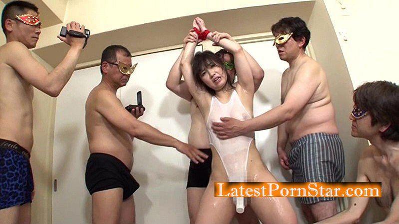 [HAWA-080] 複数の男性に輪姦(マワ)されたい素人妻を楽しむ会「輪姦堂」 みなみさん29歳