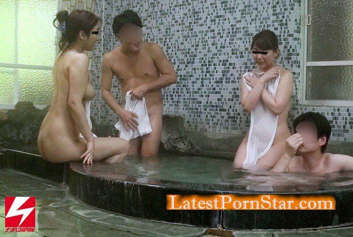 [HD][TNB-010] スワップ愛好家夫婦が温泉に遊びに来ている一般人夫婦に声がけガチナンパ! 旦那と奥さん酔わせまくってハメ撮り隠し撮り強行スワッピング!2