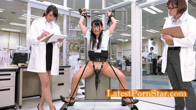 [HD][SDMU-710] 「250000回転の電マをY字・ブリッジなど子宮に振動が最も伝わる体勢で固定して当て続けたら?」をSOD女子社員が真面目に検証してみた結果 パンツスーツの裾まで染みるほど漏らして漏らして5人合計64回イキ SOD性科学ラボ レポート3