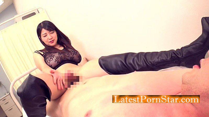 [MIST-182] 極巨乳美女 優月まりな 超ドSニーハイブーツ女教師ザーメン狩り!