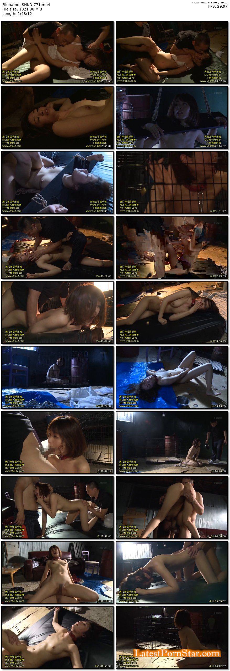 [SHKD-771] 性奴隷No.103 女子大生真島依子 川上奈々美