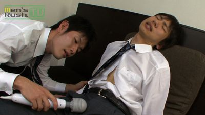 Men's Rush.TV – MR-KR263 – ジャニ系少年が悪教師に電マでお仕置きされる♪