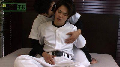 Men's Rush.TV – MR-KR315 – 野球ユニフォームのHIKARUとデカチン少年の濃厚絡み☆