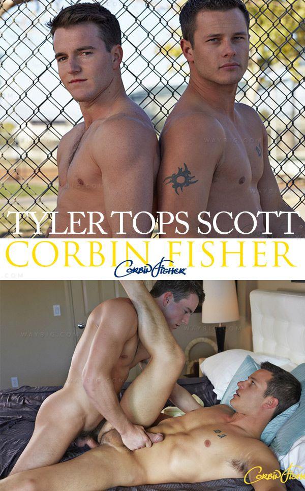 CorbinFisher – Tyler Tops Scott (Bareback)