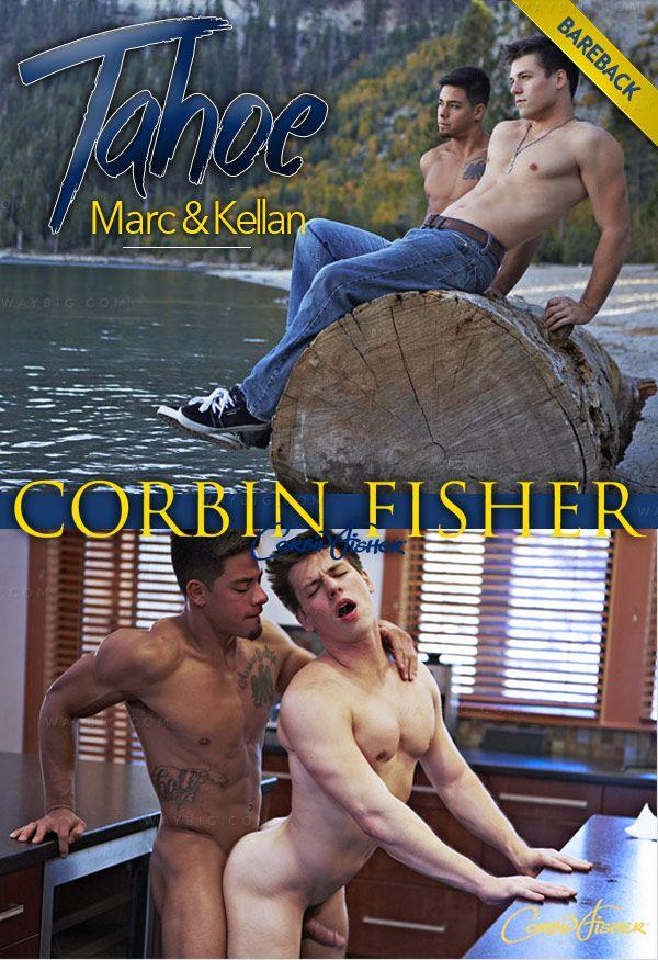 CorbinFisher – Tahoe: Marc & Kellan (Bareback Breakfast Fuck)