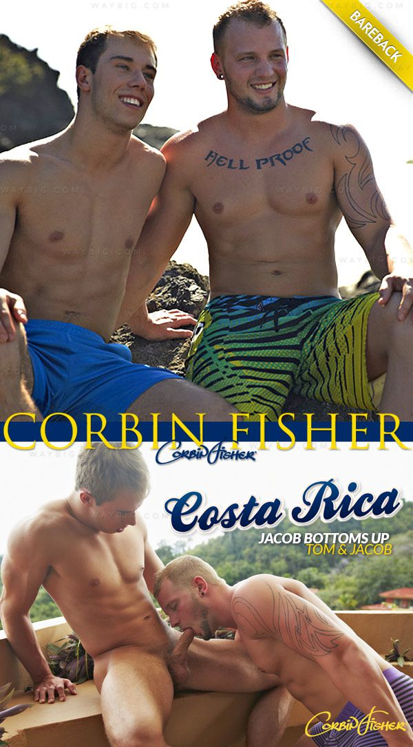 CorbinFisher – Costa Rica: Jacob Bottoms Up (for Tom) (Bareback)