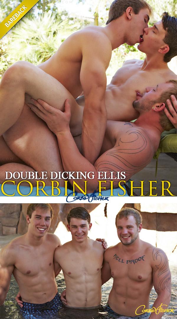 CorbinFisher – Double-Dicking Ellis (Ellis, Tom & Jacob) (Bareback)