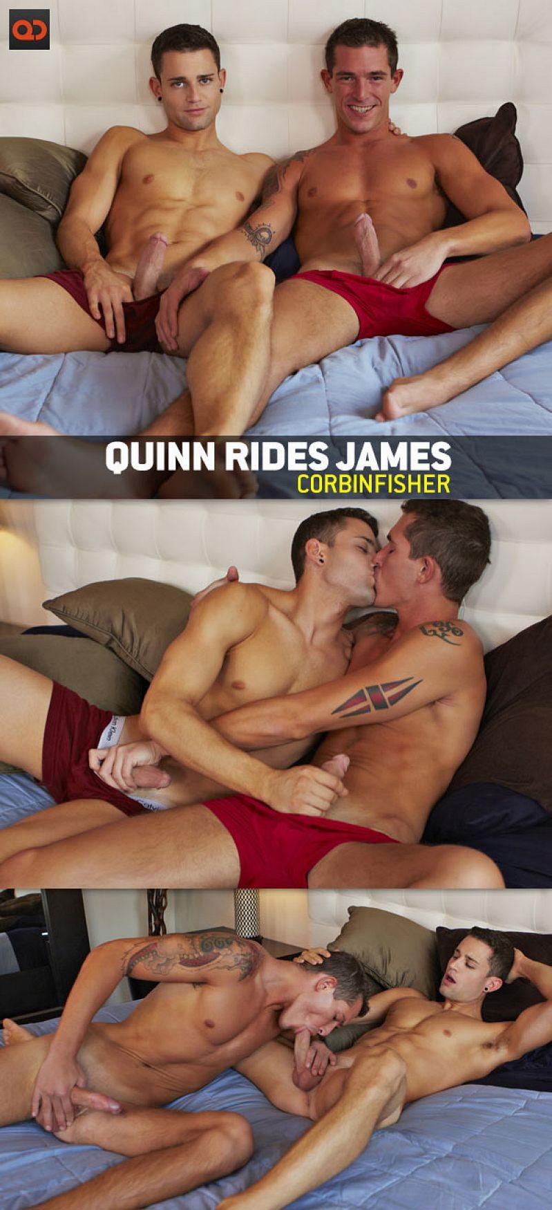 CorbinFisher – Quinn Rides James