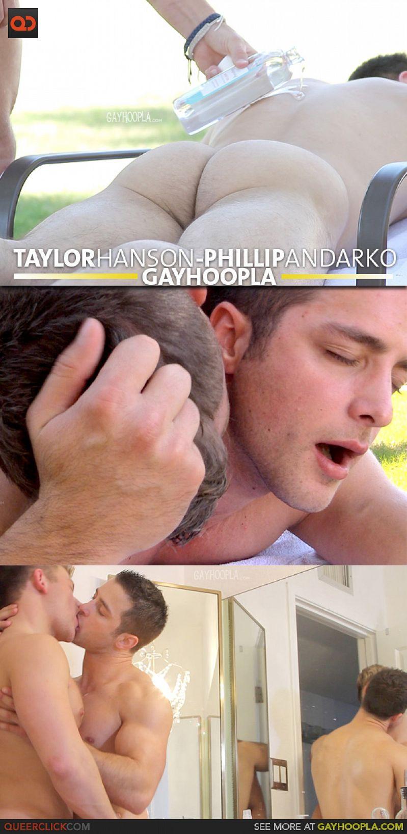 GayHoopla – Tyler Hanson & Phillip Anadarko (Flip-Flop)