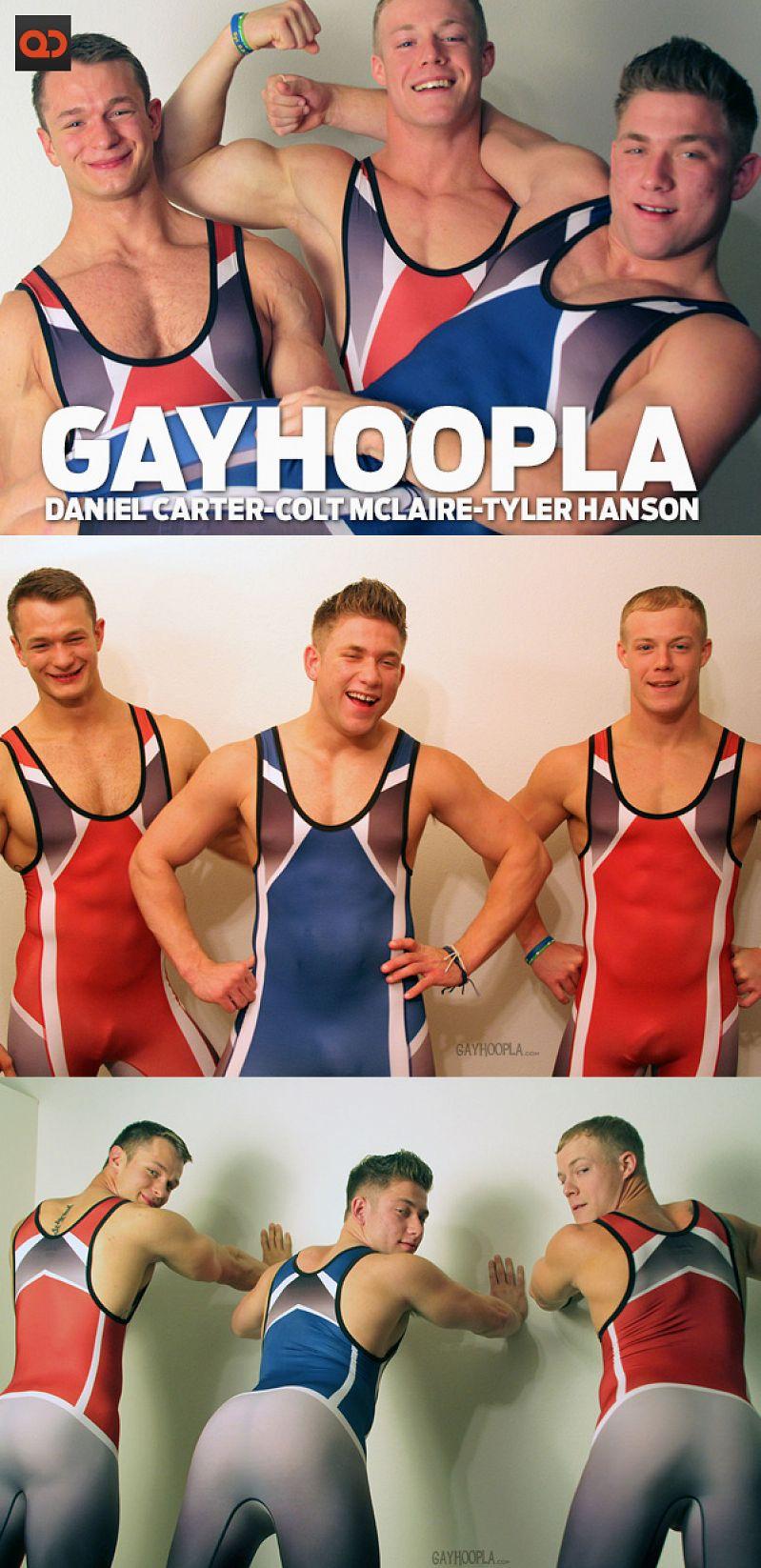GayHoopla – Colt Mclaire, Tyler Hanson and Daniel Carter