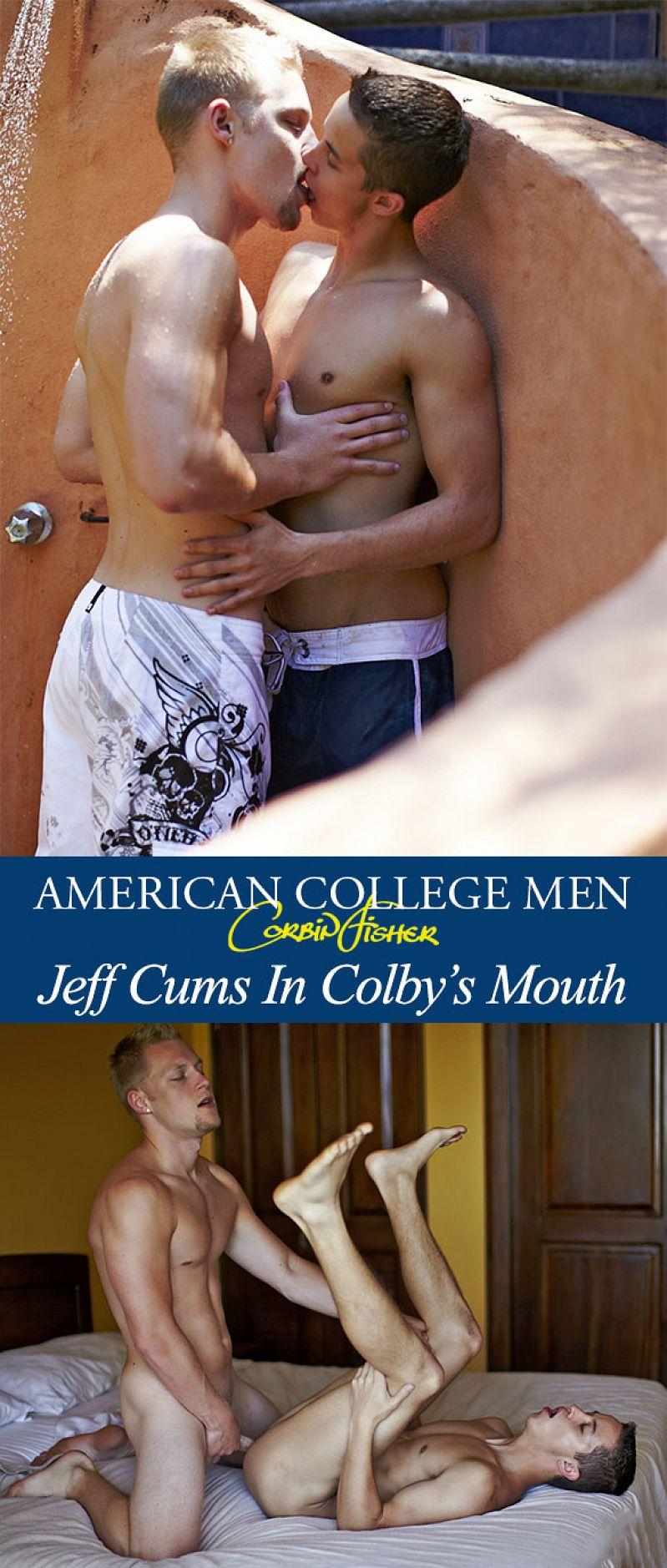 CorbinFisher – Jeff fucks Colby's tight hole bareback
