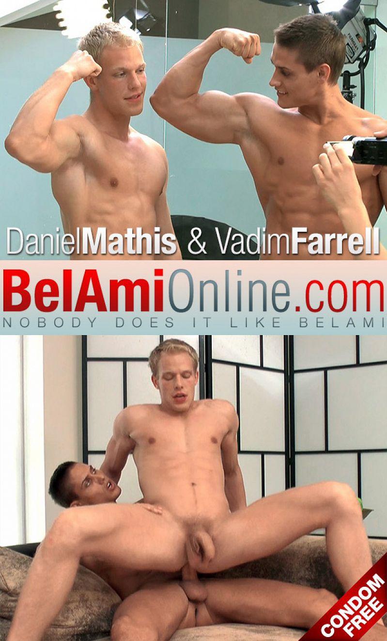 BelAmiOnline – Vadim Farrell barebacks Daniel Mathis