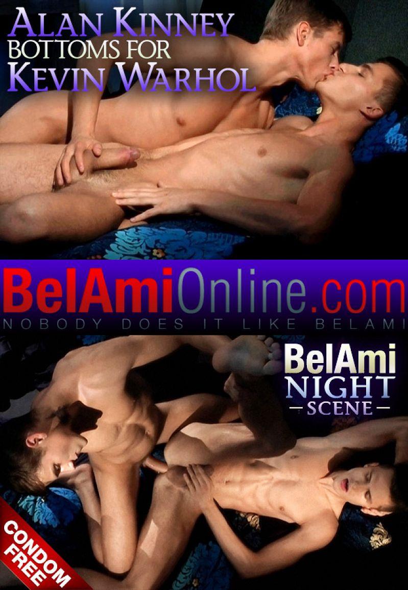 BelAmiOnline – Kevin Warhol barebacks Alan Kinney
