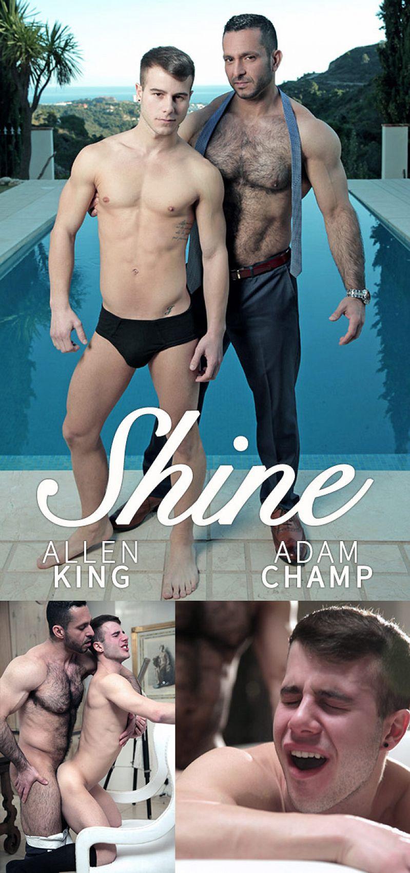 "MenAtPlay – Adam Champ fucks Allen King in ""Shine"""