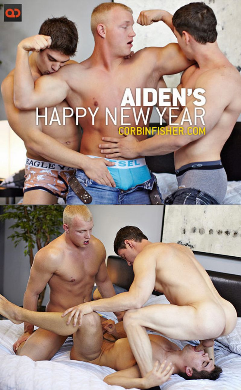 CorbinFisher – Aiden's Happy New Year