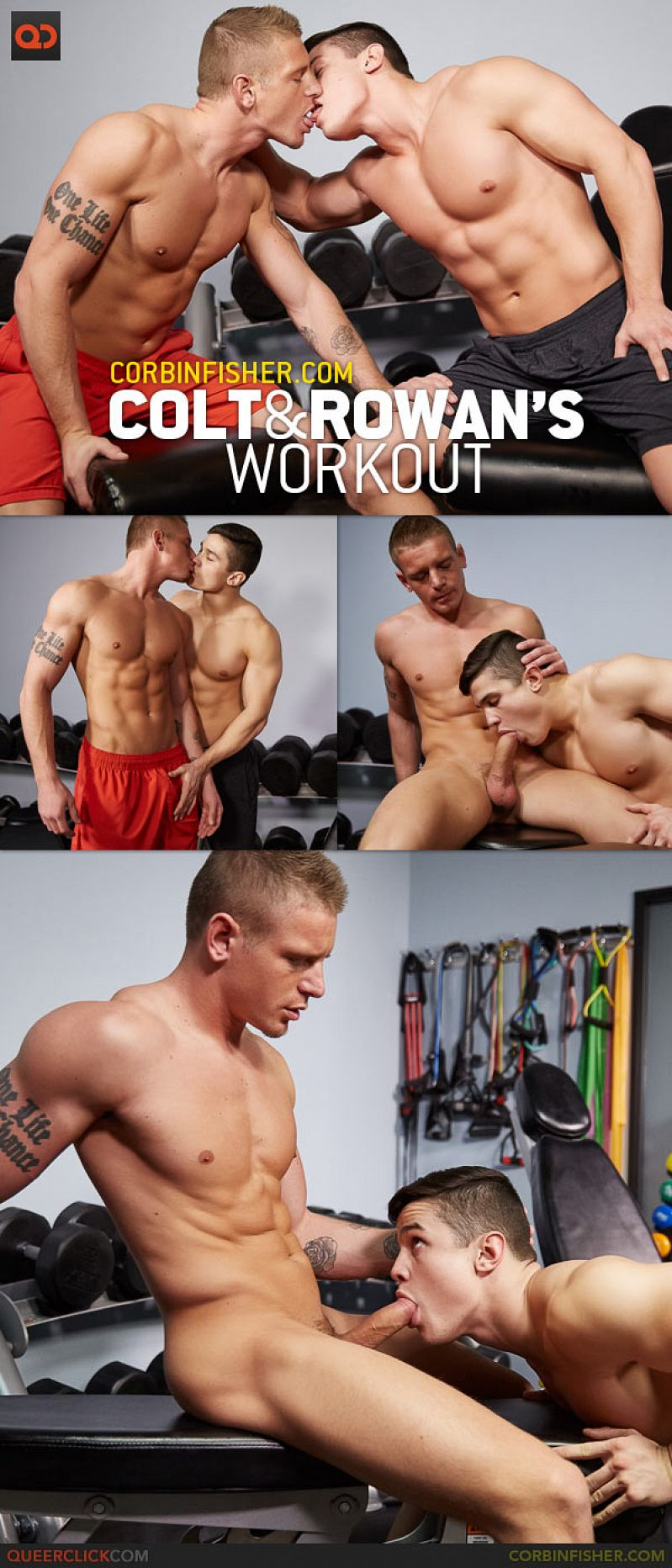 CorbinFisher – Colt and Rowan's Work Out