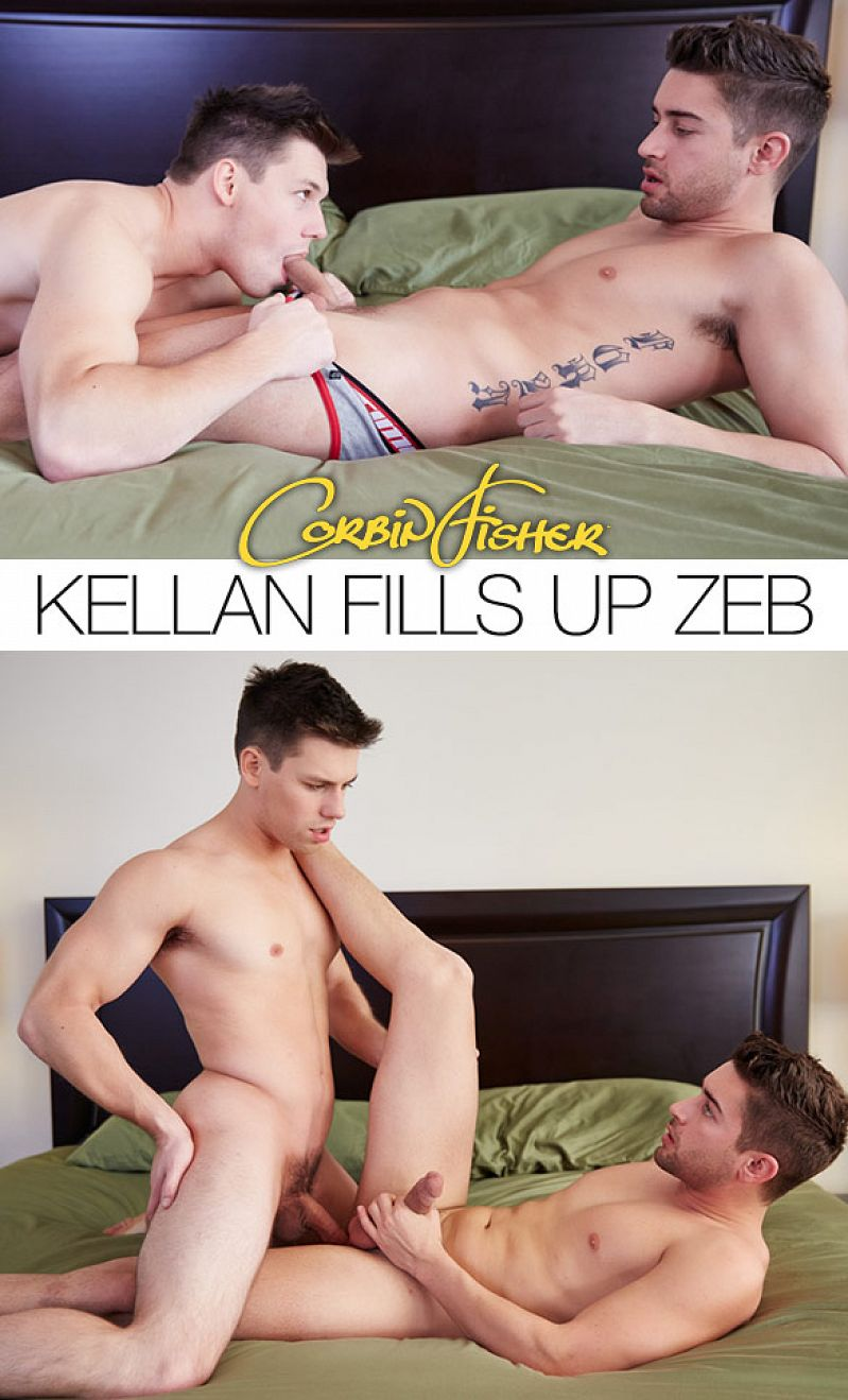 CorbinFisher – Kellan creampies Zeb