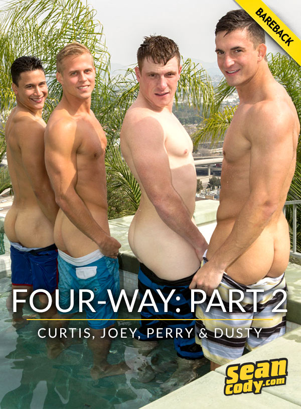 SeanCody – Four-Way Part 2 – Scott, Joey, Curtis and Perry