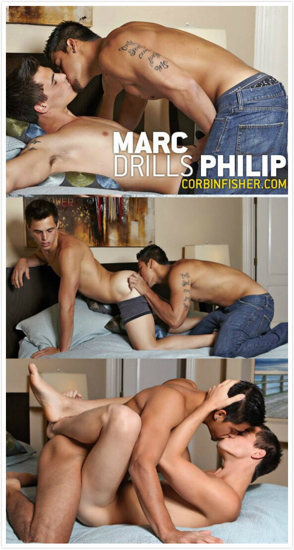 CorbinFisher – Marc Drills Philip