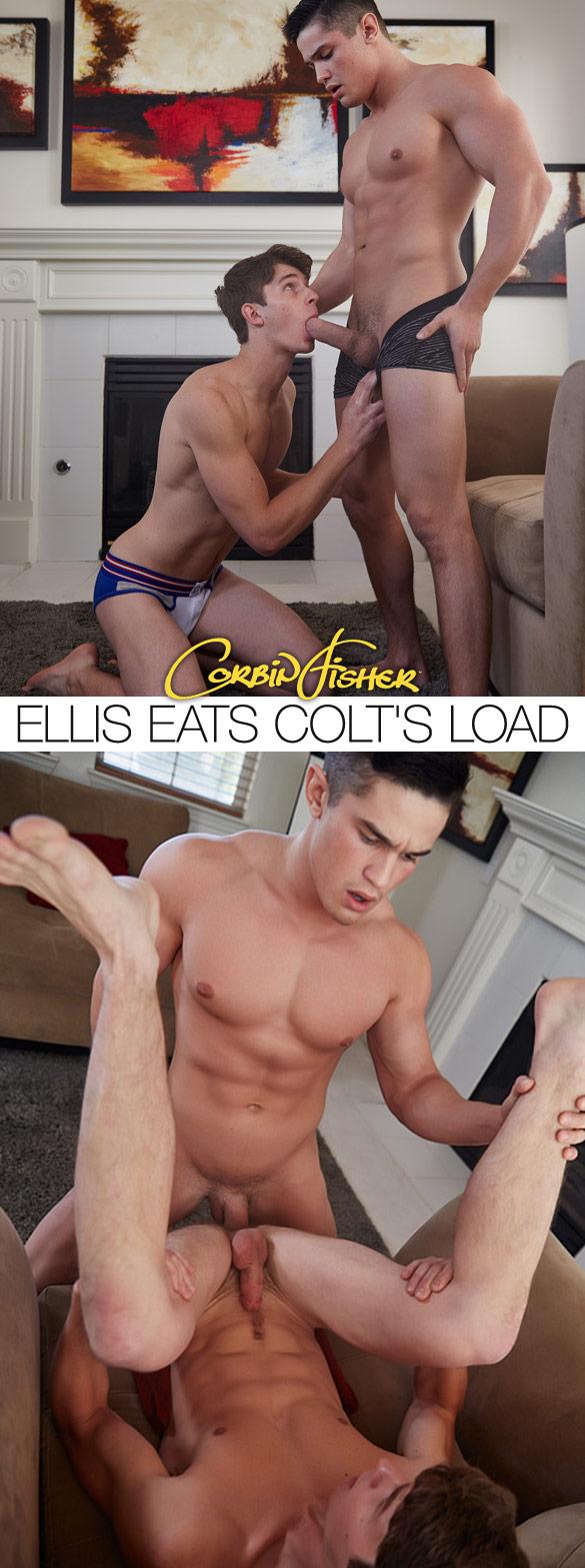 CorbinFisher – Colt fucks Ellis raw