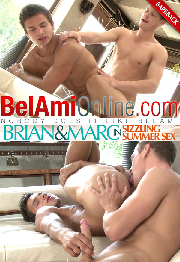 BelAmiOnline – Marc Ruffalo & Brian Jovovich (Sizzling Summer Sex) (Bareback)