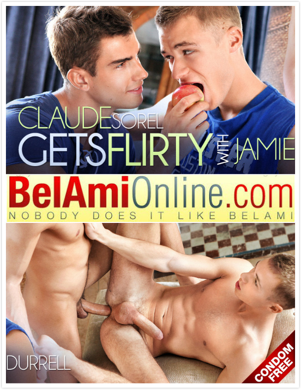 BelAmiOnline – Claude Sorel & Jamie Durrell (Bareback)