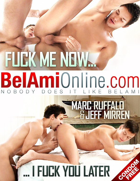 BelAmiOnline – Marc Ruffalo and Jeff Mirren flip fuck bareback