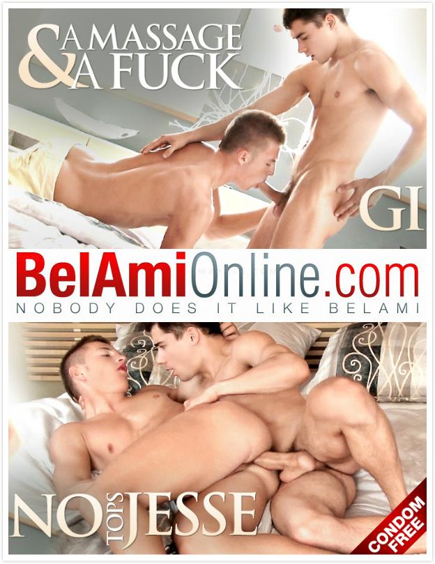 BelAmiOnline – Gino Mosca, Jesse Tobey (Bareback)