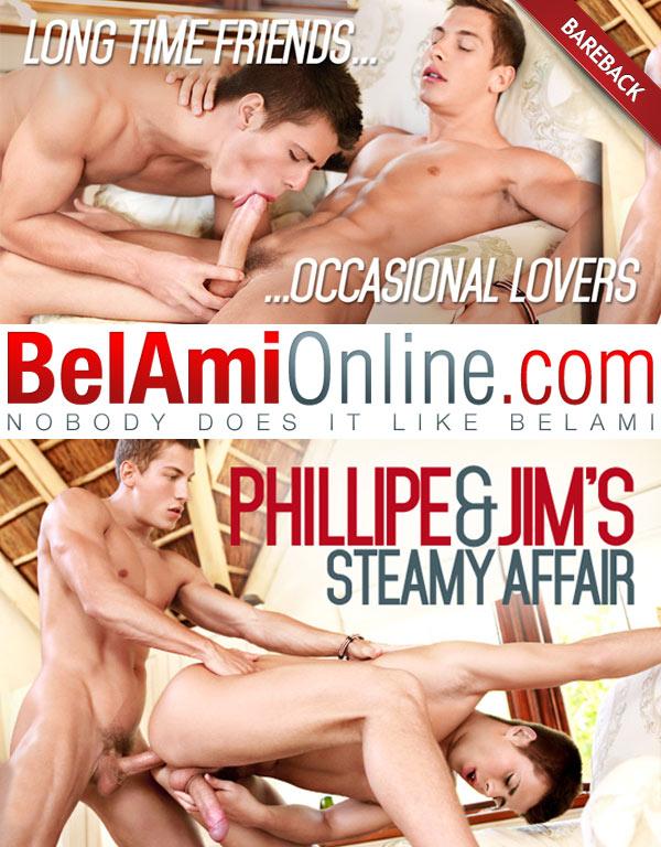 BelAmiOnline – Jim Kerouac & Phillipe Gaudin (Long Time Friends…Occasional Lovers) (Bareback)